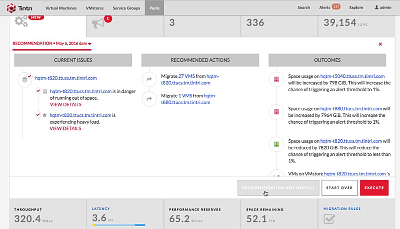 VMスケールアウト 管理画面