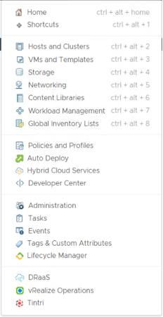 最新Tintri vSphere Web Client Plug-in(VCP)で仮想マシンとストレージの管理を簡素化イメージ1
